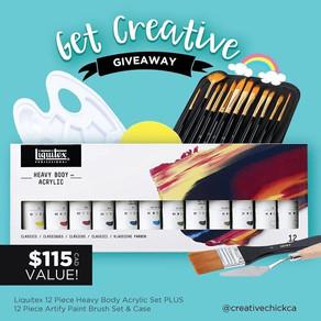 Get Creative Giveaway #2