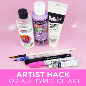 Artist Hack - A Great Tip for ALL Artists!