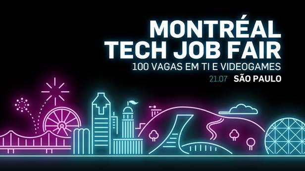 Talent Montréal: empresas do Québec em busca de profissionais de TI e videogames