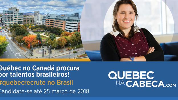 Já é possível se candidatar às vagas de TI e usinagem do site Québec na Cabeça!