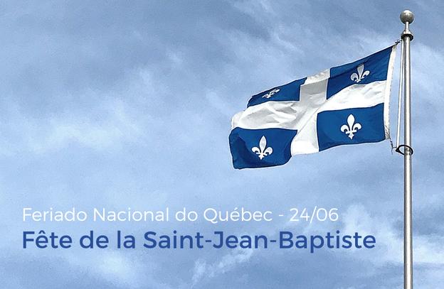 Saiba mais sobre o Feriado Nacional do Québec (São João Batista), celebrado em 24 de junho