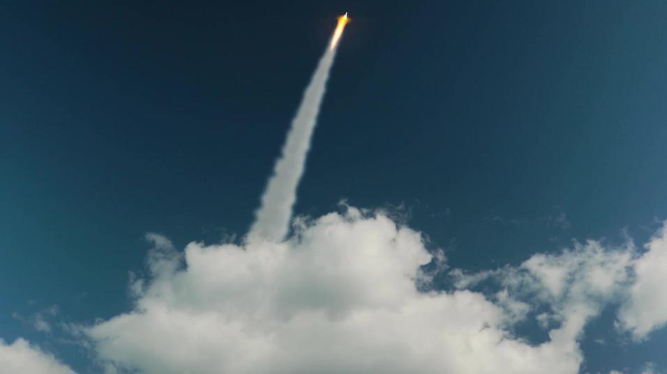 Rocket From Sea