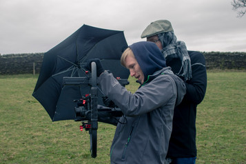 On Set Photo