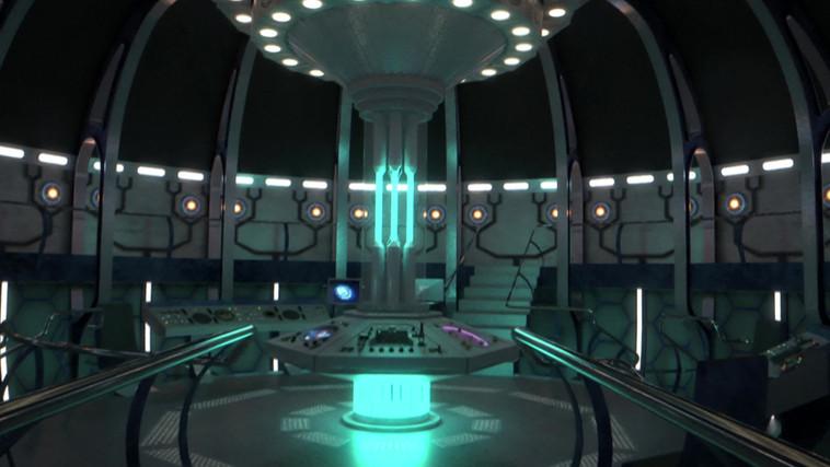 TARDIS In Millennium Square