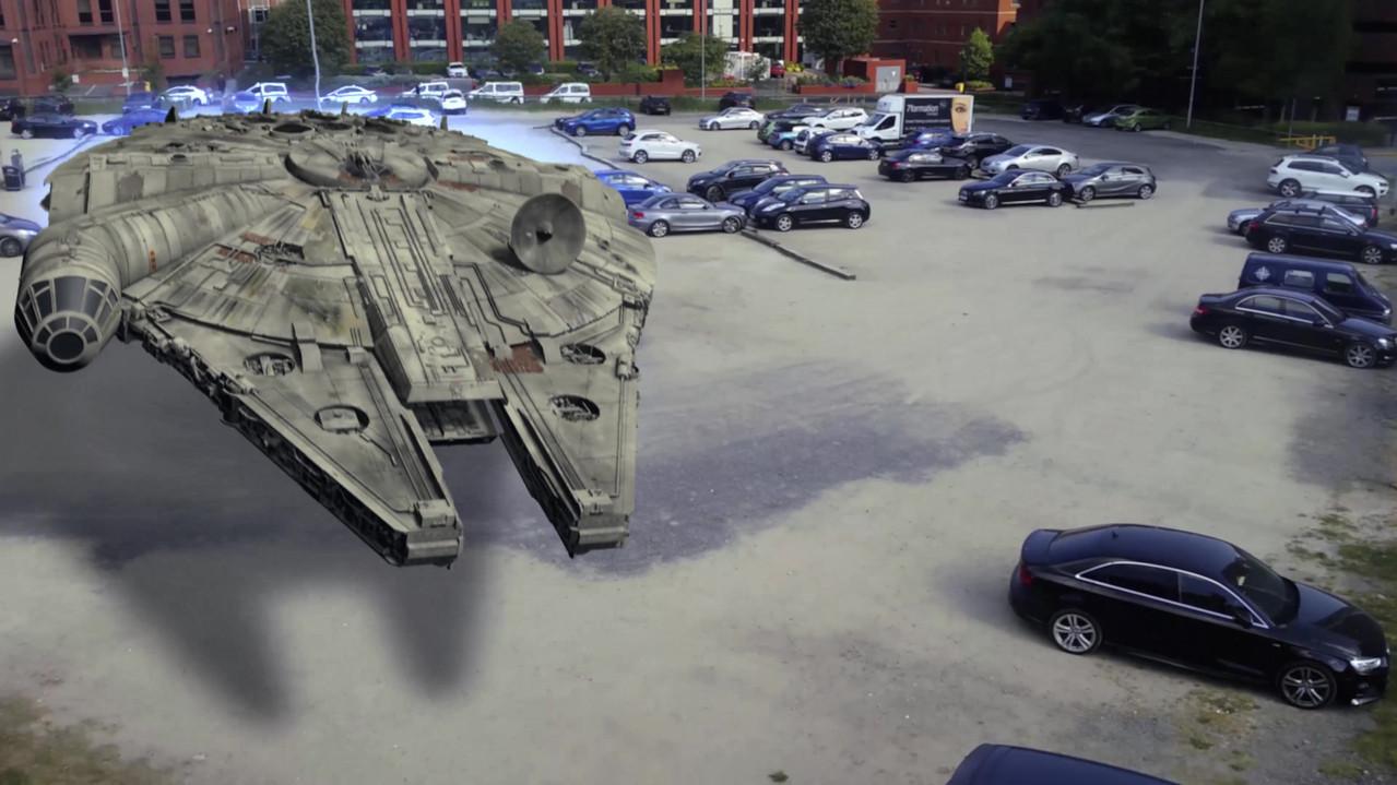 Millennium Falcon Lands In Leeds