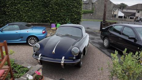CG Porsche on the drive