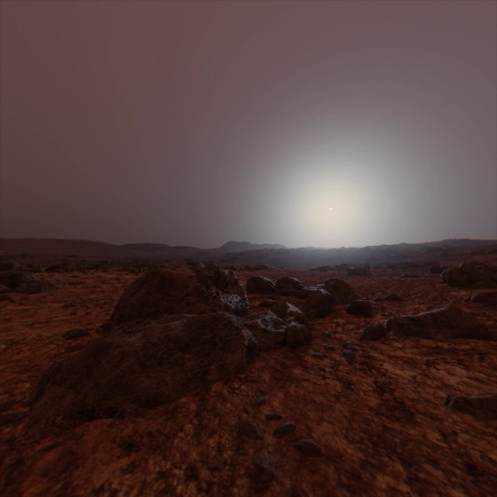 Day on Mars Timelapse