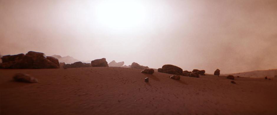 Martian Terrain Fly Through