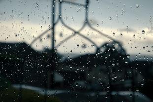 Rain Drop Window