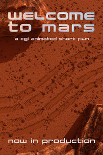 Welcome to Mars Teaser Poster
