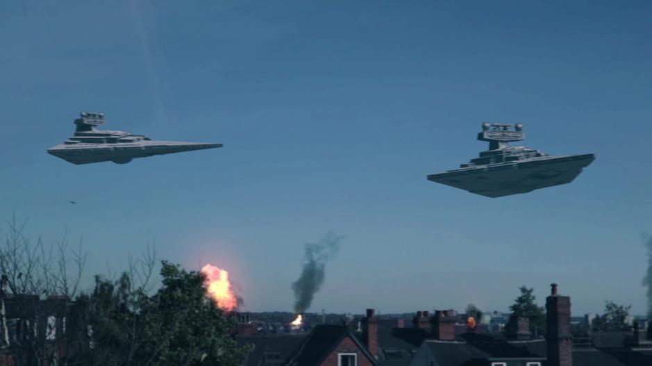 Star Destroyers in Leeds