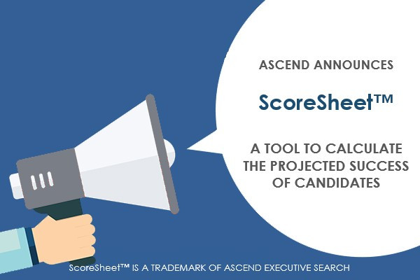 Ascend Launches ScoreSheet™ for Recruiting