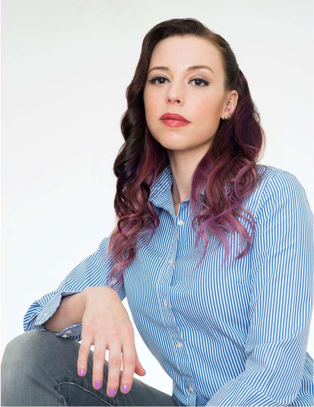 "OPEN SECRETS. Amber Baldet's team at J.P. Morgan built an open-source blockchain platform: ""The more free that sort of thing is, the better for us,"" she says. Photo: Benjamin Spradley"