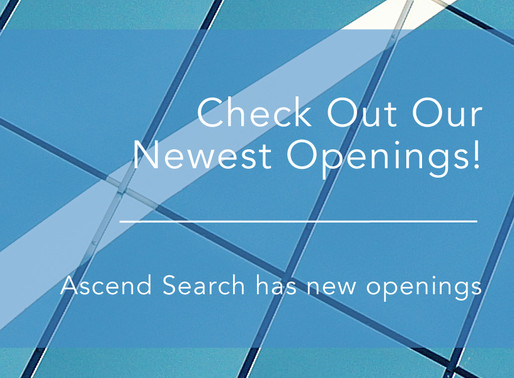 Check out our new 2018 openings at Ascend!