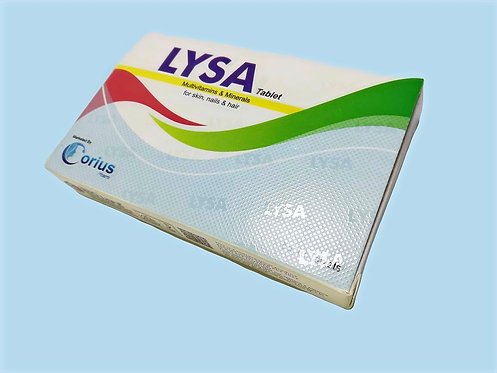 LYSA Tablet - Hair, Skin & Nail Vitamin Formula