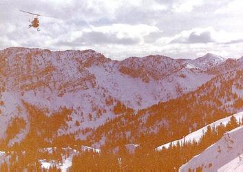 Snowbird, Utah backcountry 1994