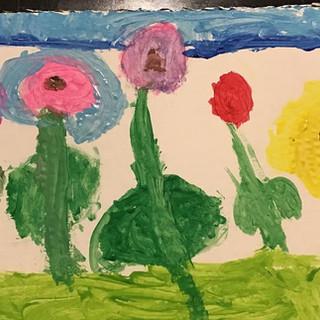 """""""Spring Has Sprung"""" Arielle Skeens- Gr. 1"""