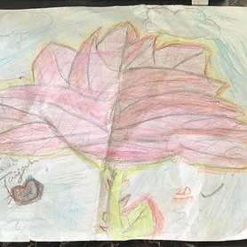 """Beauty and the Beast Rose"" Taijah Beard- Gr. 4"
