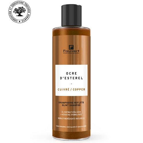 Shampooing reflets cuivré - ocre d'esterel