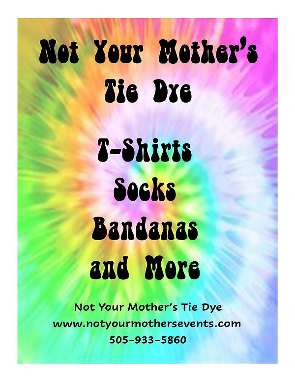 Not Your Mother's Tie Dye - Graphic for