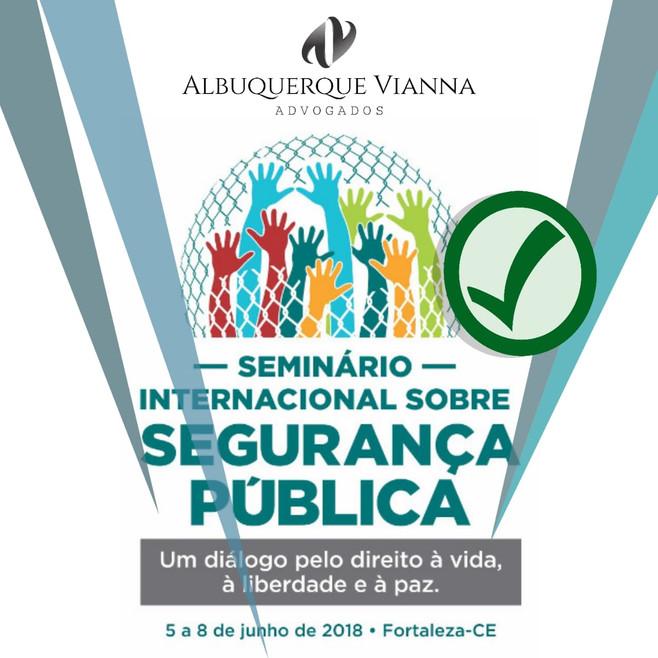 Dr. Marcos Vianna ministra conferência sob segurança pública relacionada