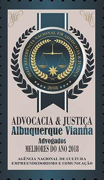 Melhores Advogados 2018 | Fortaleza Recife | Trabalhista Tributário Empresarial | Selo ANCEC Referência Nacional Advocacia & Justiça | Albuquerque Vianna Advogados latin american quality awards 2018 institute law firm