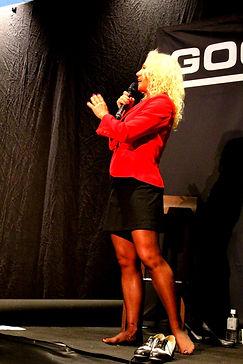 International Inspirational & Motivational Speaker Camilla Uddgren