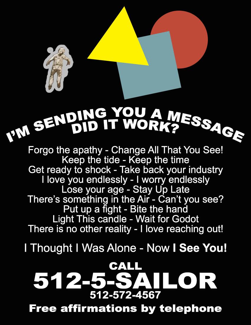 Sailor Boyfriend Subway Flyer