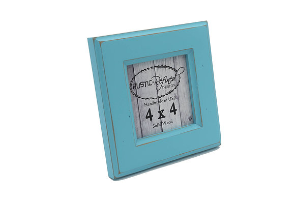 4x4 Moab picture frame - Turquoise