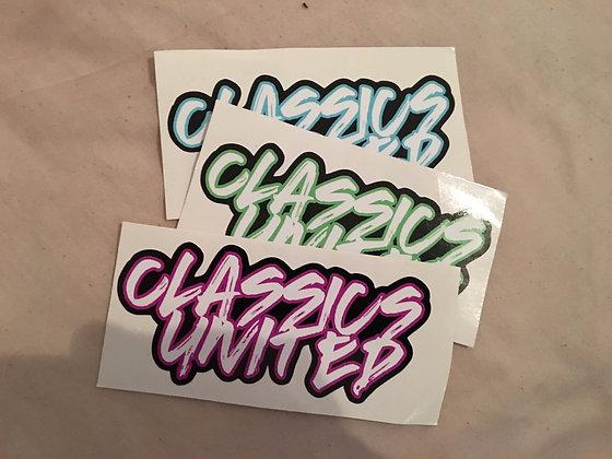 Graffiti Style Sticker