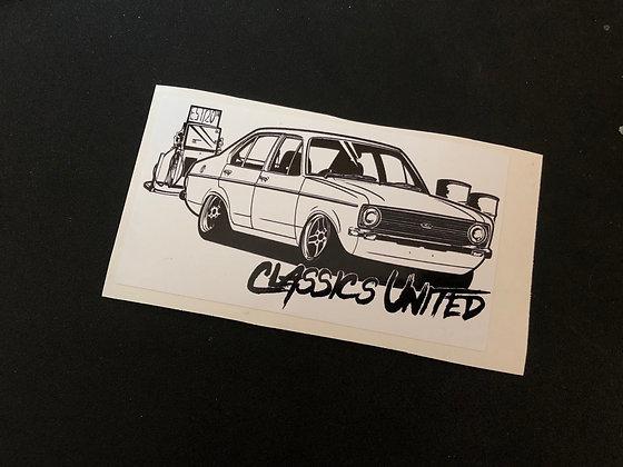 Mk2 Escort Sticker