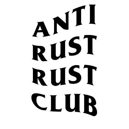 Anti Rust Vinyl Decal