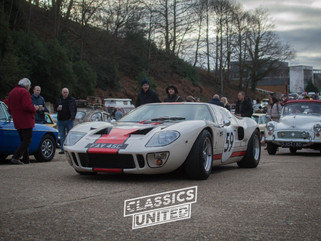 Brooklands New Years Day Meet