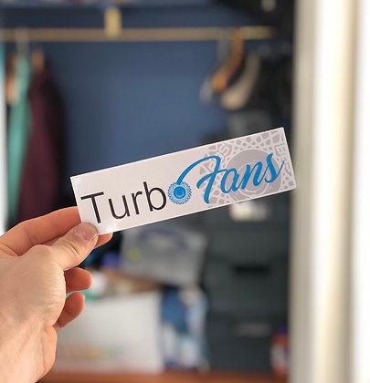 Turbo Fans (OnlyFans) Slap Decal