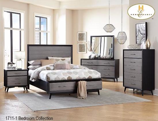 1711 Bedroom Set