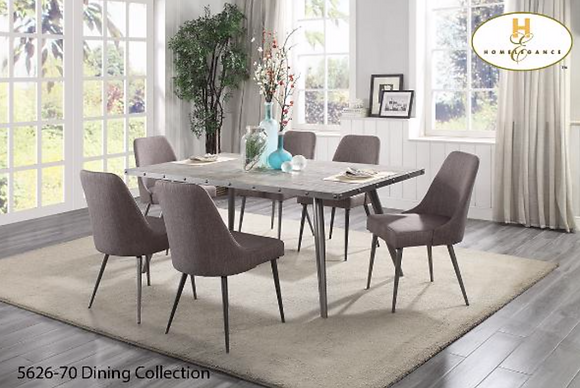 5626 5pc Dining Table Set