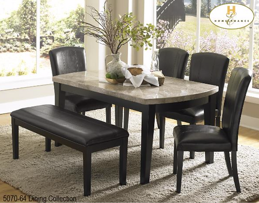 5070 6pc Dining Table Set