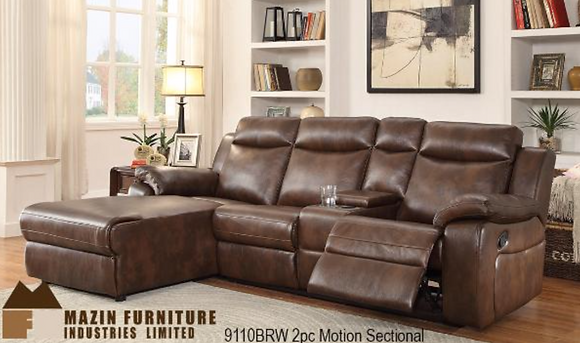9110 Sectional Recliner