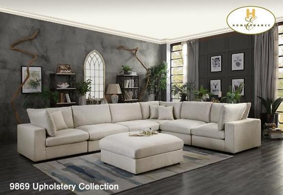 9869 Sectional Sofa Set