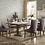 Thumbnail: 5428 7pc Dining Table Set