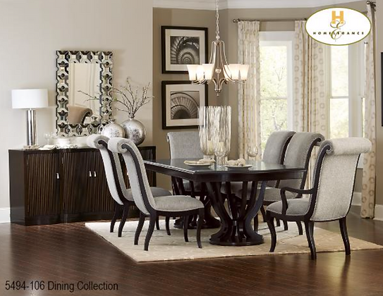 5494 7pc Dining Table Set