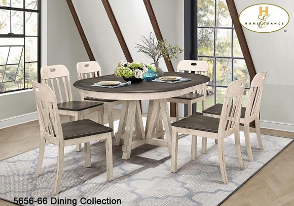 5656 5pc Dining Table Set