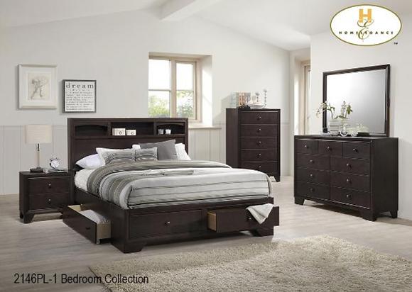 2146 Storage Bedroom Set