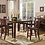 Thumbnail: 5547 6pc Counter Height Dining Table Set