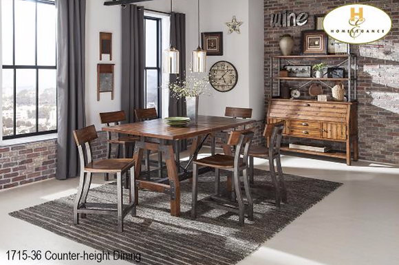 1715 5pc Counter Height Dining