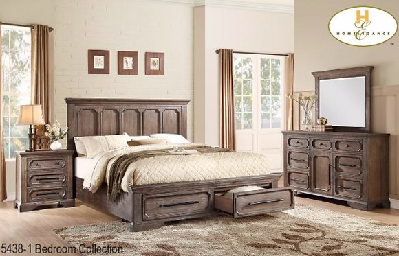5438 Storage Bedroom Set