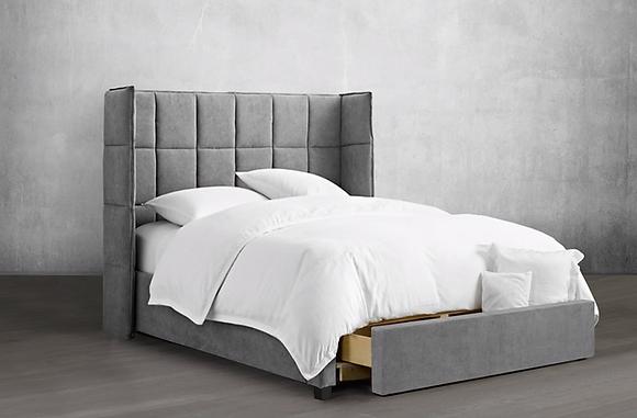 133 HB/Bed/Storage Bed