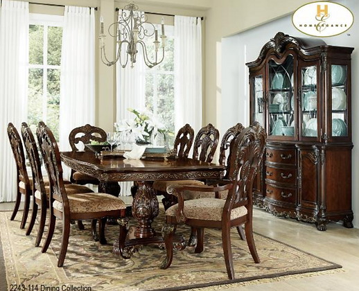 2243 7pc Dining Table Set