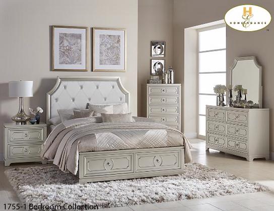 1755 Storage Bedroom Set