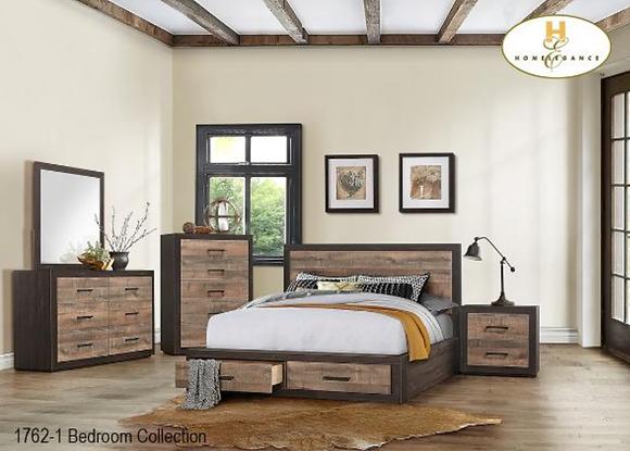 1762 Storage Bedroom Set